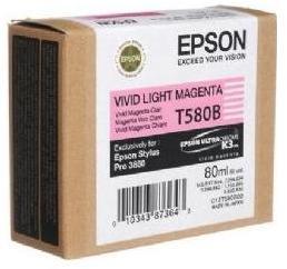 Epson T580B Vivid Lys Magenta 80ml SP 3880