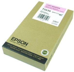 Epson Blekk T603C Light Magenta 220ml
