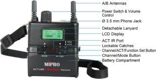 MIPRO ACT-24TR mottaker mini (NL560039)
