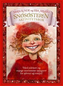 Snøsøsteren aktivitetsbok Maja Lunde {TYPE#Andre trykte artikler}