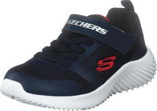 Skechers Boys Bounder Nvbk, Sko, Sneakers og Treningssko, Sneakers, Blå, Barn, 27