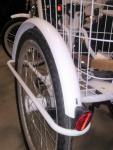0 Skjermsett - høyre og venstre til 3 hjulsykkel