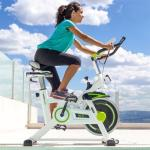 Fitness spinningsykkel 08 - grønn