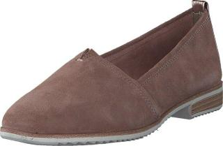 Tamaris 24205-616 Old Rose, Sko, Lave sko, Loafers, Brun, Dame, 36