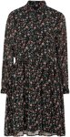 Soaked in Luxury Kjole SL Floria Dress Women Black floral print