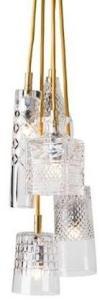 Ebb & Flow Bates, jeeves, sybil, edgar, henley taklampe - Crystal, gold