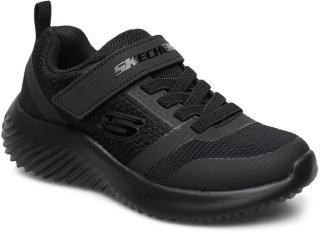 Skechers Boys Bounder Sneakers Sko Svart Skechers