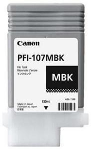 Canon PFI 107 MBK - Blekkpatron Matt svart 29960048