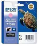 Epson Blekk T1576 Vivid Light Magenta