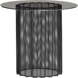 Hübsch Sofabord i netting metall og glass - Hübsch
