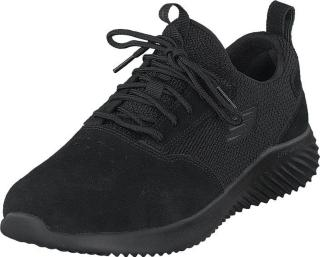 Skechers Mens Bounder Bbk, Sko, Sneakers og Treningssko, Sneakers, Svart, Herre, 43