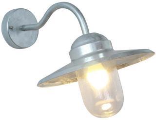 Vegglampe Ecolite Capella Galvanisert