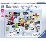 Ravensburger Puslespill 1000 Deler World Travel Memories