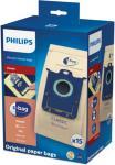 Philips Worki FC8019/03 S-Bag Classic Paper (15 worków kpl) (FC8019/03)