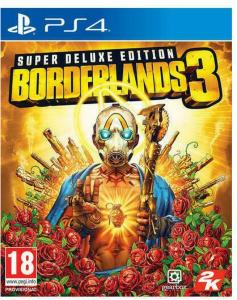 BORDERLANDS 3 SUPER DELUXE EDITION (PS4)