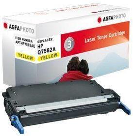 AGFAPHOTO Gul - tonerpatron (alternativ for: HP Q7582A, Canon 711Y, HP 503A) - for HP Color LaserJet 3800, 3800dn, 3800dtn, 3800n, CP3505, CP3505dn, CP3505n, CP3505x (APTHP7582AE)