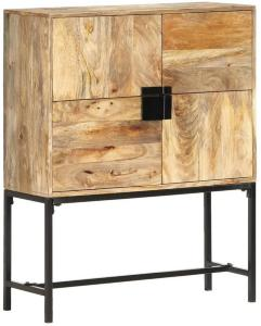 Highboard 80x30x100 cm heltre mango -