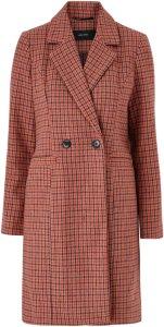 Vero Moda Kåpe vmCheck Rambla 3/4 Wool Jacket Women High risk red