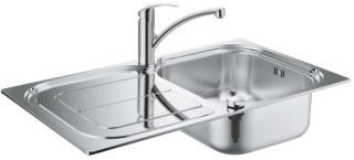Grohe Kjøkkenvaskpakke m/Eurosmart armatur