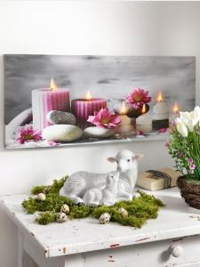 Tewa LED bilde -Beroligende- Tewa rosa