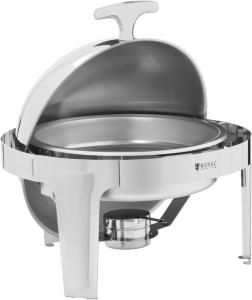 Royal Catering Varmefat - kuppel - 6 L - 1 beholder for brennpasta