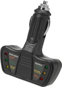 HAMRON Batteri-/ladetester 12V