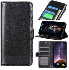 Huawei Y5p, Honor 9S Lommebok-deksel med Magnetisk Lukning - Svart