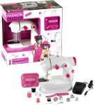 Symaskin for barn med tilbehør - batteridrevet