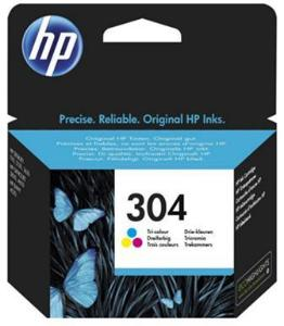 HP Blekkpatron No.304 3-Farge (2ml) N9K05AE (Kan sendes i brev)