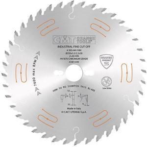 Sagblad for tre CMT 250x3,2x30 Z40 15°