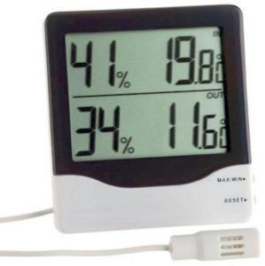 Digitalt hygrometer med sonde