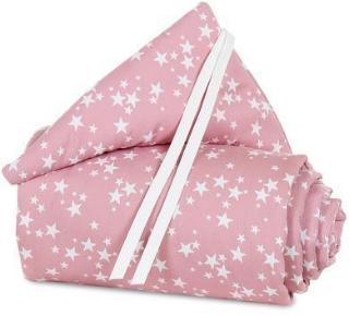 babybay Sengekant Maxi rosa med stjerner