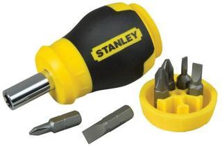 Skrutrekker Stanley 0-66-357 + skrutrekker bits