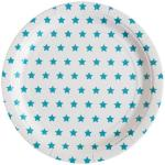 My Little Day 8 Paper Plates - Blue Stars