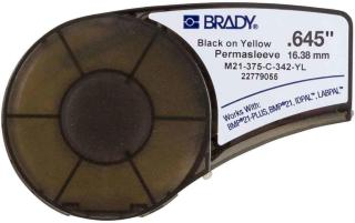 BRADY Black on Yellow 2,1m x 16,38mm (M21-375-C-342-YL)