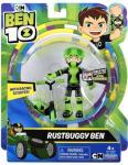Ben 10 Basic Figures - Rustbuggy Ben med sparkesykkel