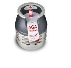 AGA PROPANFYLLING KOMPOSITT 5KG Fås med husholdningsventil (click-on)