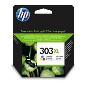 HP Blekkpatron No.303XL Farge Høykapasitet (10ml) T6N03AE (Kan sendes i brev)