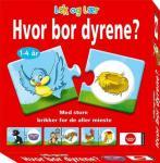 Egmont Hvor Bor Dyrene? - Norsk Utgave Egmont Kids Media