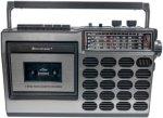 Soundmaster Retro radio med kassett Unisex