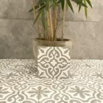 Marokkansk Flis Fes White 20x20