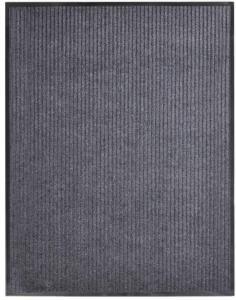 vidaXL Dørmatte grå 160x220 cm PVC