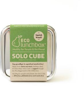 ECOlunchbox Solo Cube Stainless Steel