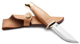 ØYO Jotunheimen Knife W/Leather Sheath, Steel, OneSize