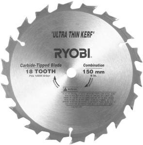 RYOBI Hardmetallblad 150x1,5x10mm