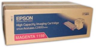 Epson Tonerkassett magenta 6.000 sider høy kapasitet S051159 Tilsvarer: N/A Epson