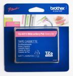 Brother P-Touch Label Tape Hvit på Rosa 12mm (5m) TZE-MQP35 (Kan sendes i brev)
