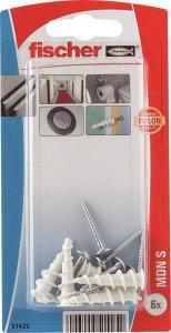 Fischer Gipsplateplugg driva mini nylon bk hvit Fischer