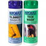 Nikwax Tech Wash + TX Direct Wash-In, 2x300ml