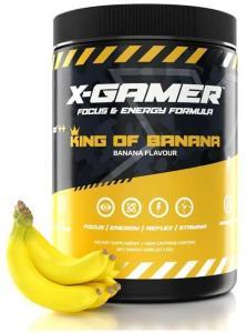 X-Gamer X-Tubz King of Banana 600g - 60 porsjoner XG-XTU-4.0-KING-1-A